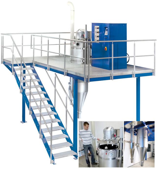 Blue Power Atomiser Metal Powder