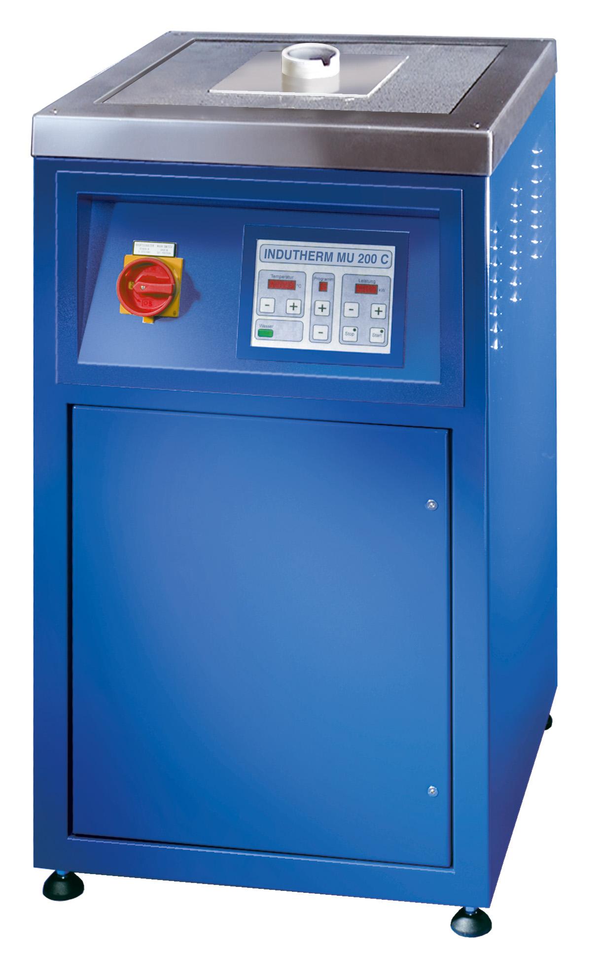 MU 200 C / MUV 200 C Hochtemperatur-Schmelzanlagen