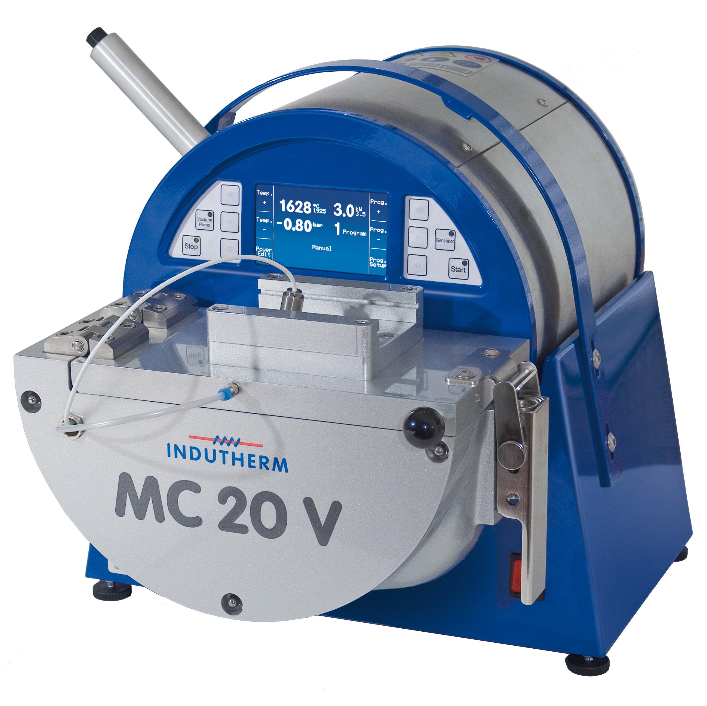 Kompakte Tischgießanlage MC 20 V