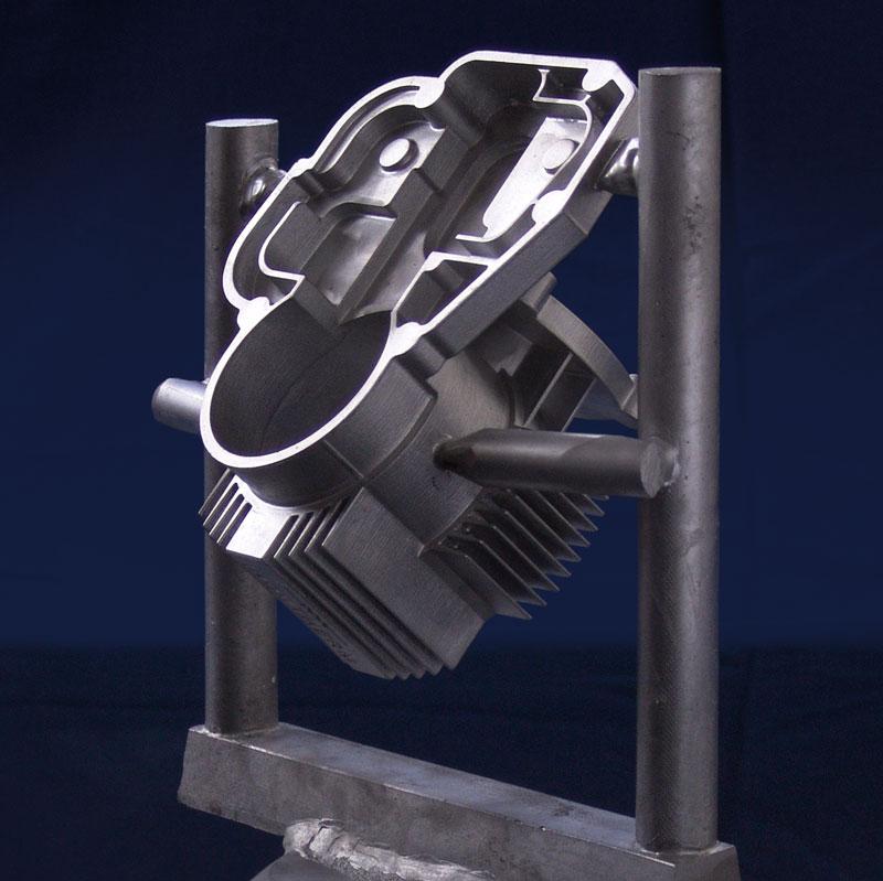 Aluminiumguss, hergestellt mit VC 12000 V Vakuum-Druck-Gießanlage