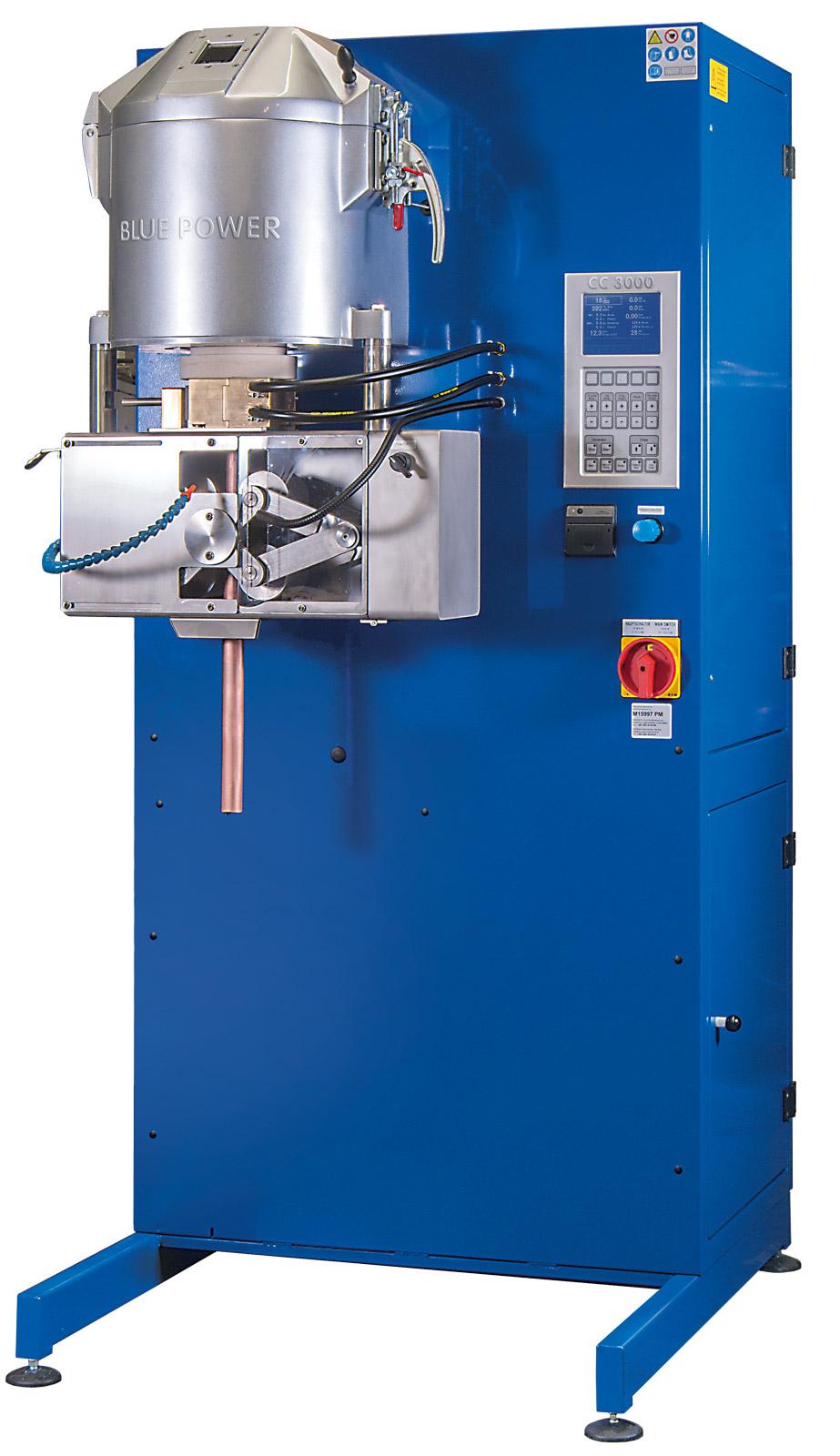 Stranggießanlage CC 3000 / VCC 3000 (Vakuum-Strangguss-Anlage)