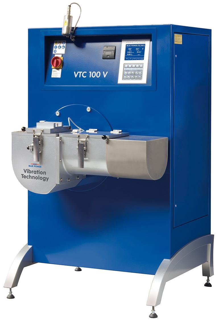 Vakuum-Druck-Gießanlage VTC 100 V / Ti Platin-Gießanlage, Stahl-Gießanlage