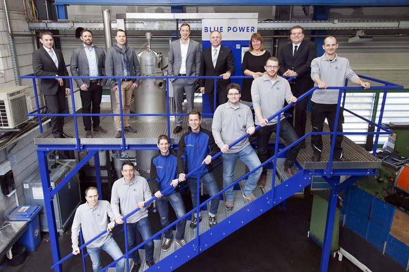 Blue Power-Atomiser at Rosswag