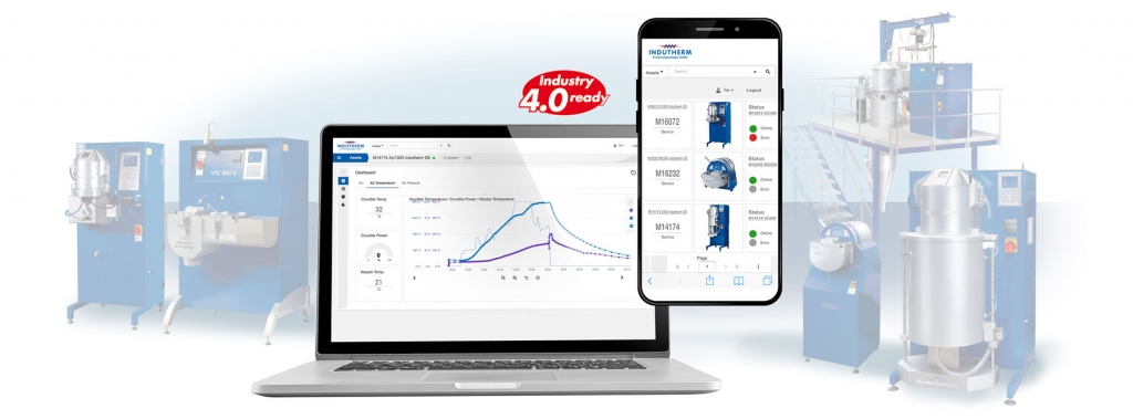 Blue Power Gießanlagen Fernsteuerung Diagnose Statistik Gießereisoftware Industrie 4.0